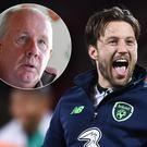 Liam Brady (inset) has backed Harry Arter's call not to make himself available to the Republic of Ireland