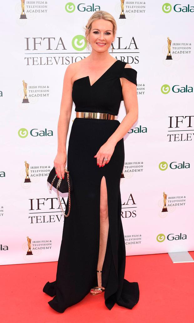 Claire Byrne at the IFTA Awards 2018