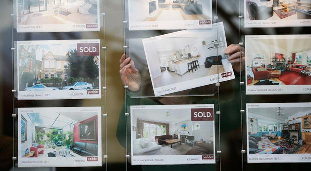 The rate at which property prices are increasing continues to ease off.