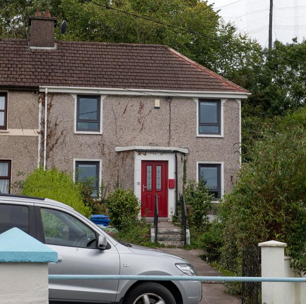Horror: The house in Delaney Park where the child died. Photo: Provision