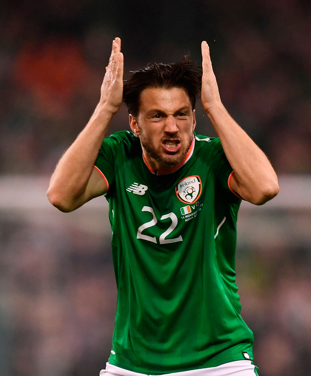 Ireland's Harry Arter. Photo: Sportsfile