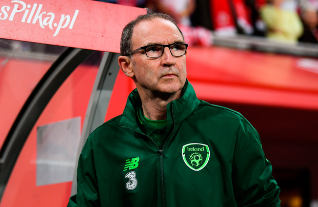 11 September 2018; Republic of Ireland manager Martin O'Neill during the International Friendly match between Poland and Republic of Ireland at the Municipal Stadium in Wroclaw, Poland. Photo by Stephen McCarthy/Sportsfile