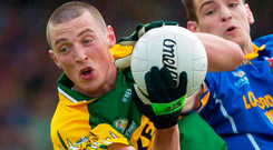 Kieran Donaghy burst onto the scene in 2006 against Longford before helping Kerry past Armagh and Francie Bellew in that year's All-Ireland quarter-final. Photo: Brendan Moran / Sportsfile