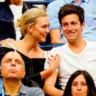 Karlie Kloss and Josh Kushner at 2018 US Open on September 6, 2018 in New York City. (Photo by Jackson Lee/GC Images)