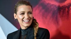 Blake Lively attends the New York premier of