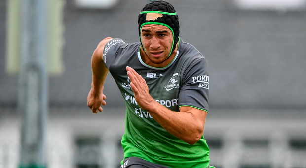 4 September 2018; Ultan Dillane during Connacht Rugby squad training at the Sportsground in Galway. Photo by Harry Murphy/Sportsfile