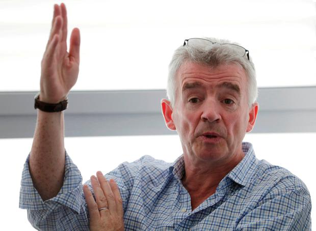 Business Week: Ryanair's O'Leary says airline 'won't be blackmailed'. Photo: REUTERS