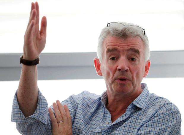 Ryanair Chief Executive Michael O'Leary. Photo: Reuters
