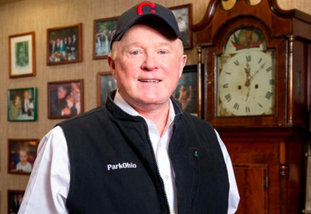 The president's man: Edward F Crawford's family hail from Ireland and he is heavily involved in the Irish-US community