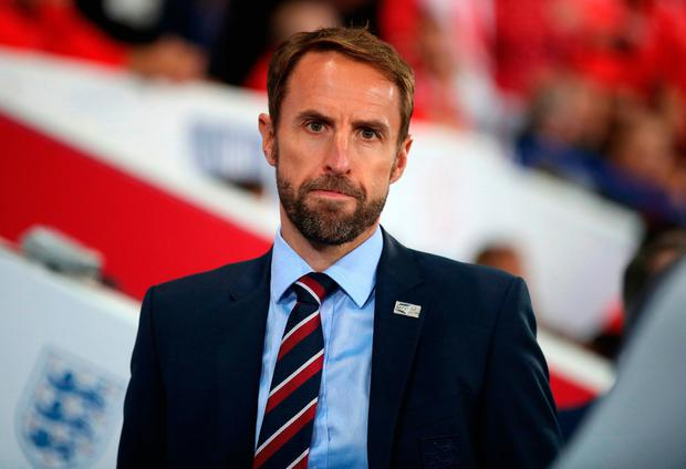Southgate: Rashford praise. Photo credit: Nick Potts/PA Wire