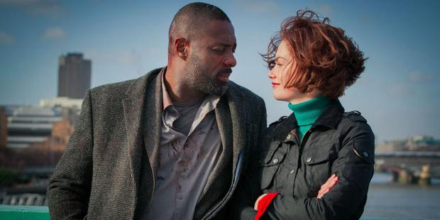 Ruth Wilson with Idris Elba in Luther