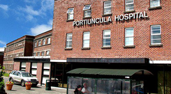 The family spent the night in Portiuncula Hospital