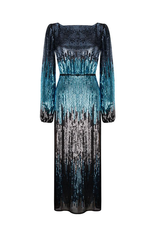 The 'Coco' ombre dress, €420 by Rixo London at Brown Thomas