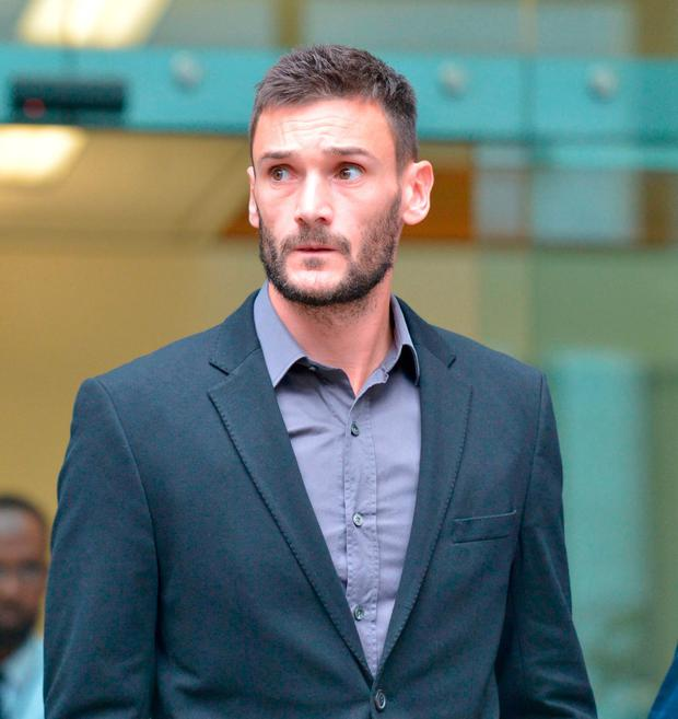 Tottenham goalkeeper Lloris fined for drunk driving