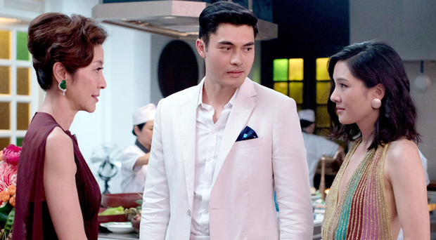 Nick's mother, played by Michelle Yeoh (left), does not approve of Rachel