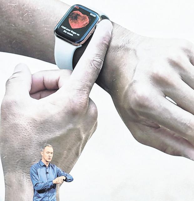 Game changer: Apple has regulatory approval to load in a full ECG sensor and diagnostics