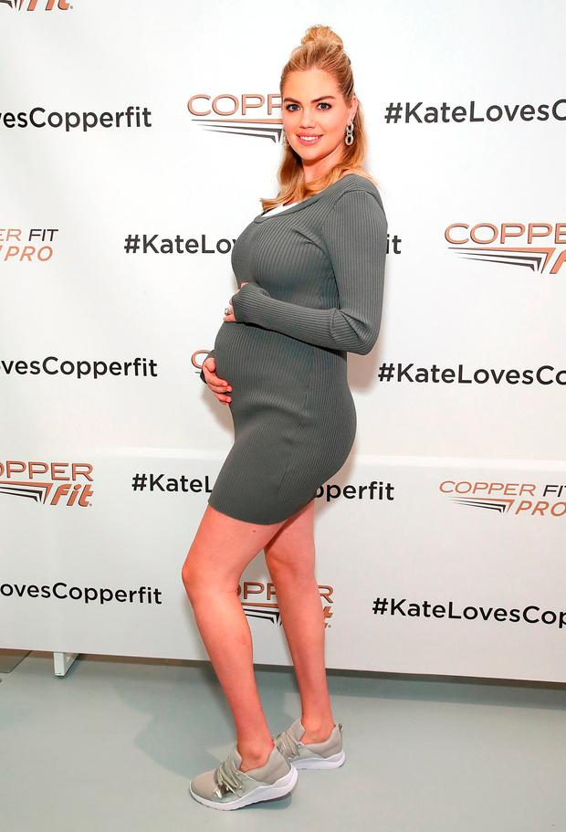 Kate Upton attends Copper Fit And Kate Upton Launch Event In NYC at The Empire State Building on September 13, 2018 in New York City. (Photo by Astrid Stawiarz/Getty Images for Copper Fit)