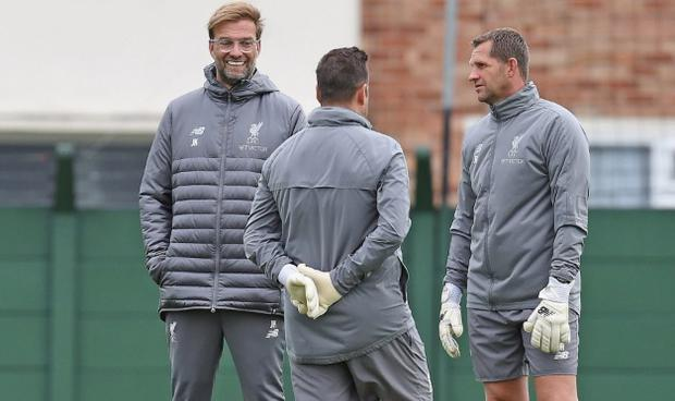 Jurgen Klopp is looking to bolster his goalkeeping coaching staff CREDIT: GETTY IMAGES