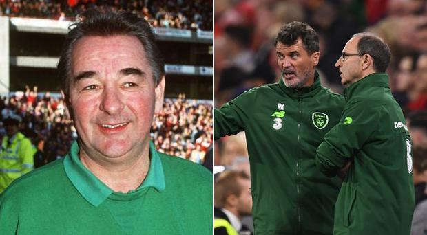 Brian Clough managed both Roy Keane and Martin O'Neill at Nottingham Forest