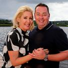 Neven Maguire and his wife Amelda at Lough MacNean in Blacklion, Co Cavan. All photos: David Conachy