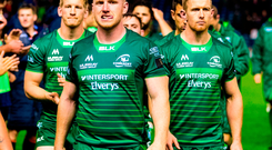 Shane Delahunt of Connacht following defeat