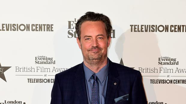 Friends star Matthew Perry revealed he has spent three months in hospital following surgery to repair a ruptured bowel