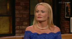 Ailbhe Griffith shared her story on The Late Late Show, RTE One