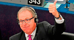 MEP Axel Voss believes the amended Article 13 can work. Photo: Getty Images
