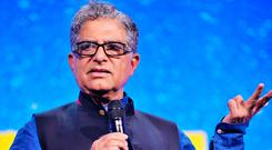 DEEPAK CHOPRA: Prolific speaker and author is followed by millions of people around the world seeking spiritual enlightenment. Picture: Getty