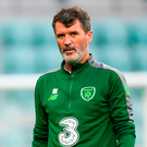 Republic of Ireland assistant manager Roy Keane. Photo by Stephen McCarthy/Sportsfile
