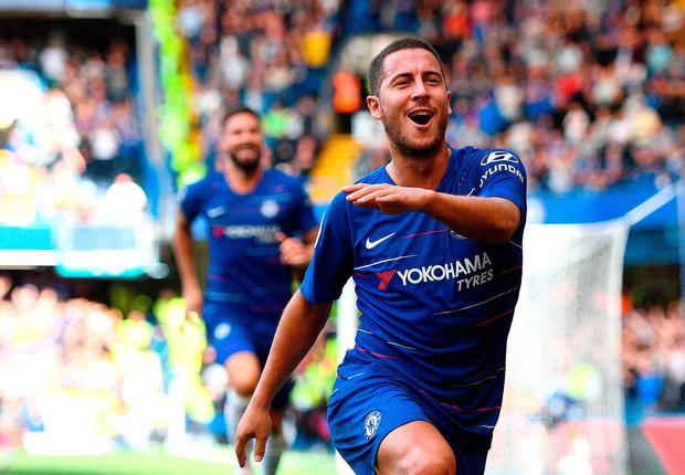 Maurizio Sarri backs Eden Hazard to win the Golden Boot