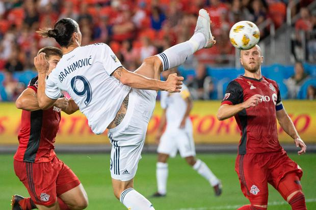 Ibrahimovic joins Ronaldo, Messi in 500 club with outrageous goal