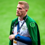 McClean explained that it was an accidental training ground collision with Stephen Ward that struck him down. Photo by Stephen McCarthy/Sportsfile