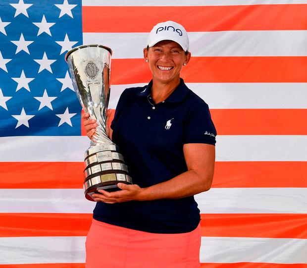 Angela Stanford wins at Evian for first career major title