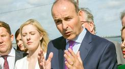 Micheál Martin's party has repeatedly said this year's Budget must be focused on housing and health. Photo: Tony Gavin