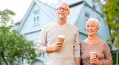 Debt: one in five of those with a mortgage expects to be still paying off the home loan when they cease working. Stock Image