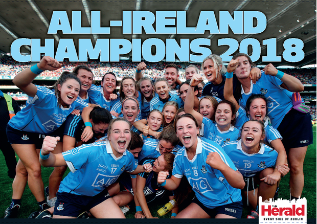 4a638120c9fa Dublin s back-to-back All-Ireland champions commemorated with ...