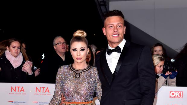 Olivia Buckland and Alex Bowen (PA)