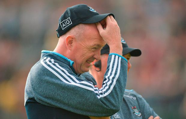 Bolt from the blue: Pat Gilroy was a left-field appointment when he was given a three-year term with the Dublin hurlers. Photo: Ray Ryan/Sportsfile