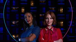 The Circle presenters (Channel 4)