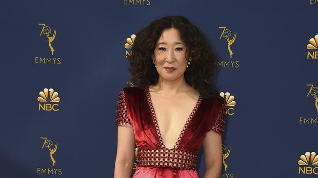0454450db59 Fans were left disappointed after Sandra Oh missed out on an Emmy (Jordan  Strauss/