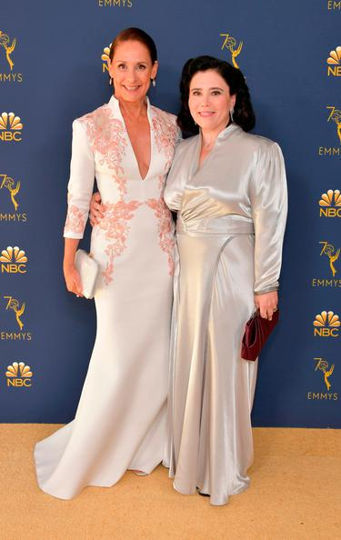 The marriage didn't last but the dress did' - Alex Borstein