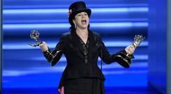 Amy Sherman-Palladino won twice on the night (Chris Pizzello/AP)