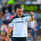 Mayo manager Peter Leahy. Photo: Sportsfile