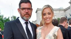 Padraig McLoughlin and Kathryn Thomas
