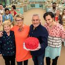 Nobody left the tent on The Great British Bake Off during dessert week. (Mark Bourdillon/Love Productions)