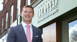 Brian Lee, co-founder and MD of Freshly Chopped