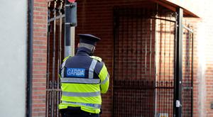 Gardai investigate the fatal stabbing of a woman in her thirties on Linen Hall Street in Dundalk Picture; Arthur Carron