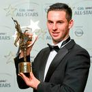 Disqualified: Cathal Barrett was named young hurler of the year at the 2014 All-Star Awards. Photo: Sportsfile