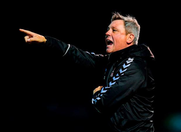 Bohemians manager Keith Long. Photo: Stephen McCarthy/Sportsfile